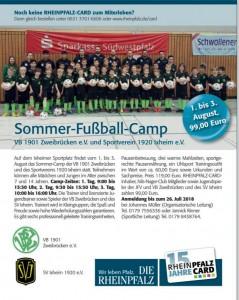 Fussballcamp der SG VB Zweibrücken / Ixheim